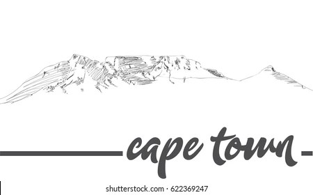 Table Mountain Vector Images, Stock Photos & Vectors