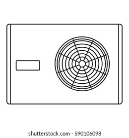 Air Conditioning Unit Stock Vectors, Images & Vector Art