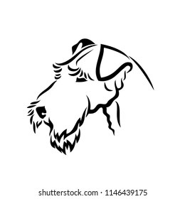 Airedale Terrier Stock Vectors, Images & Vector Art