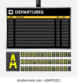 airport departure sign images