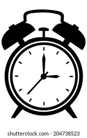 Alarm Clock Cartoon Images, Stock Photos & Vectors