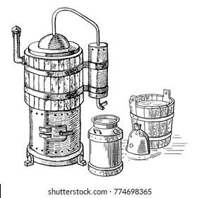 Grain Alcohol Stock Vectors, Images & Vector Art