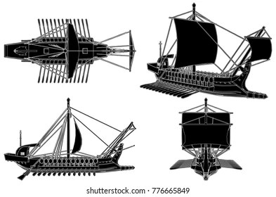 Ancient Greek Ship Stock Images, Royalty-Free Images