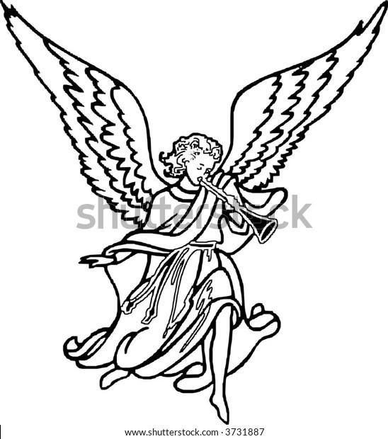 Angel Stock Vector (Royalty Free) 3731887
