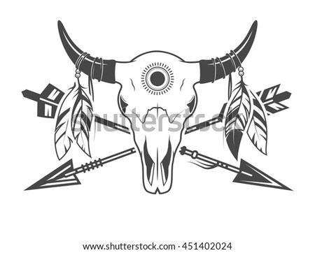 animal skull diagram simple respiration arrows stock vector royalty free 451402024 shutterstock with
