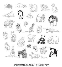 Imágenes, fotos de stock y vectores sobre Baby Cartoon