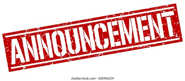 announcement images stock photos