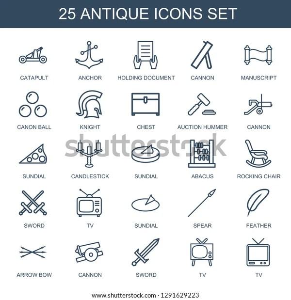 antique icons trendy 25