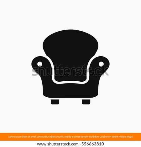 chair design icons unfinished pressed back chairs armchair furniture icon one stock vector royalty free of set web