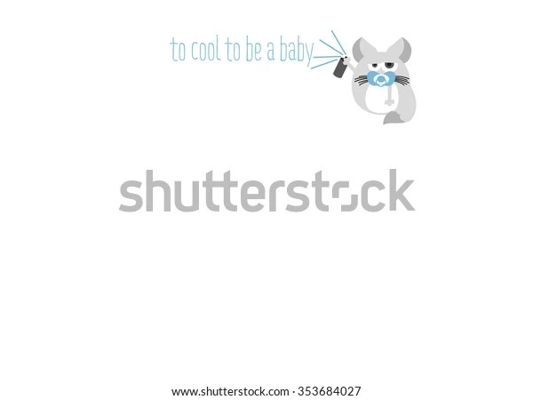 baby stationary card text
