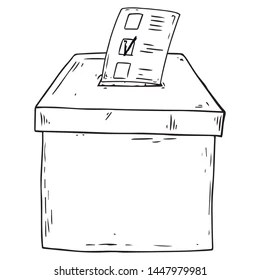 Voting Isolated Stock Illustrations Images Vectors