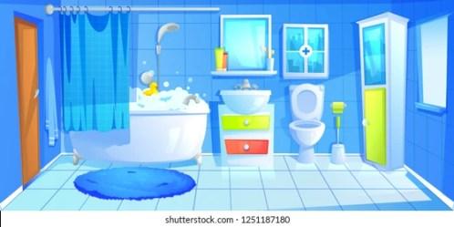 Washroom Cartoon Images Stock Photos & Vectors Shutterstock