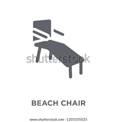 chair design icons white club beach icon stock vector royalty free concept from summer collection simple element illustration