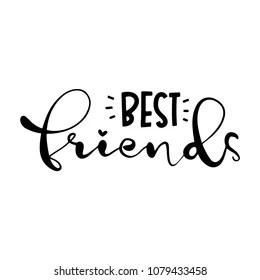Best Friends Forever Images, Stock Photos & Vectors