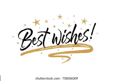 best wishes images stock
