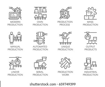 robotic process automation icon Images, Stock Photos