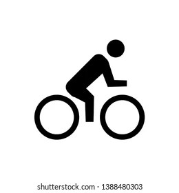 bike icon images stock