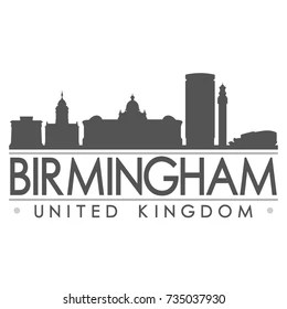 Birmingham Skyline Images, Stock Photos & Vectors