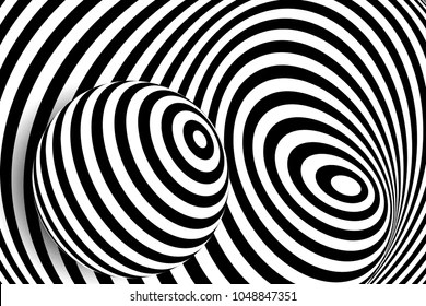 3d illusion images stock