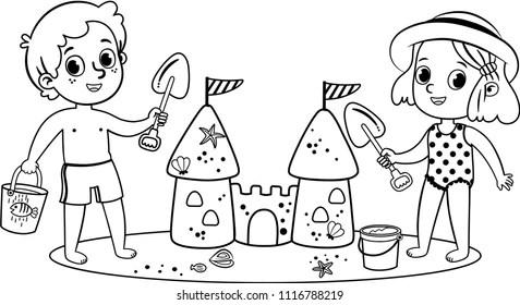 Cartoon Clip Art Little Girl Images, Stock Photos