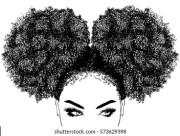 afro stock & vectors