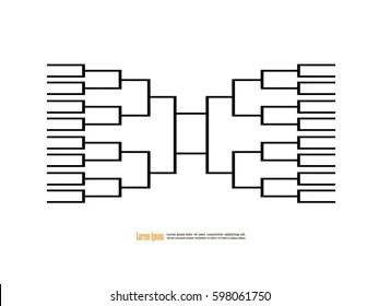Tournament Bracket Images, Stock Photos & Vectors