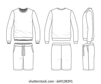 Similar Images, Stock Photos & Vectors of Men's track suit