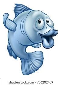Cartoon Cod Fish : cartoon, Cartoon, Stock, Images, Shutterstock
