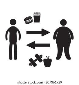 The Fat Person Cartoon Images, Stock Photos & Vectors