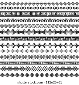 border pattern images stock