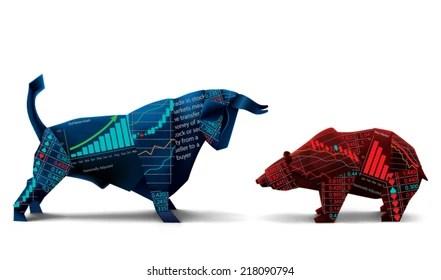bear stock market images