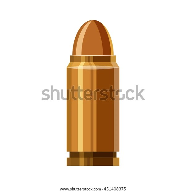 bullet icon cartoon illustration