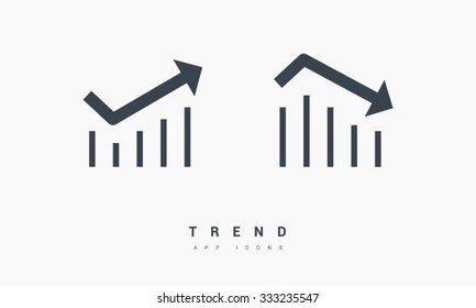 Up And Down Graph Images, Stock Photos & Vectors