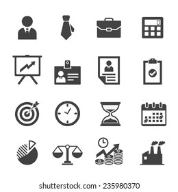 business icons images stock