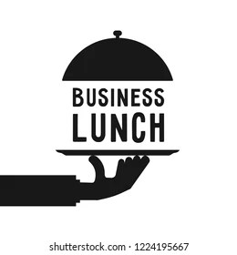 Business Lunch Invitation Images, Stock Photos & Vectors