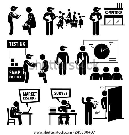 Business Market Survey Analysis Research Stick Stock