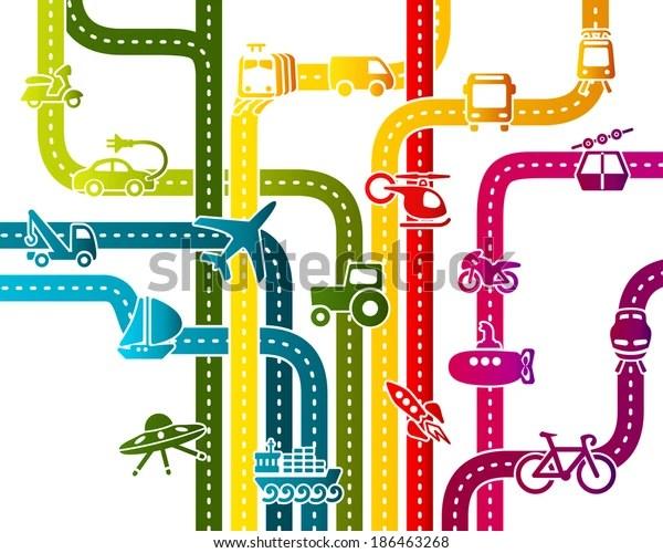 business transportation infrastructure stock
