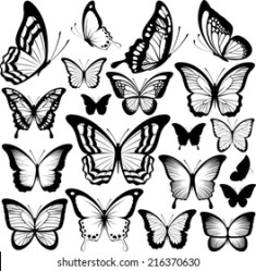 Butterfly Clipart Images Stock Photos & Vectors Shutterstock
