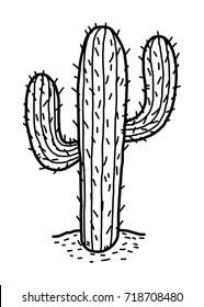 cactus cartoon images stock