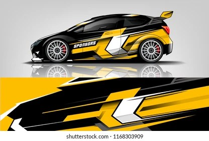 vehicle graphics images stock