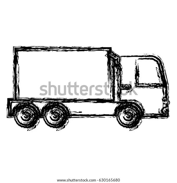 Cargo Truck Icon Stock Vector (Royalty Free) 630165680