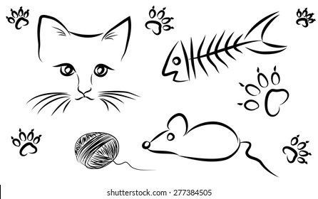 Food Chain With Mouse Stock Vectors, Images & Vector Art