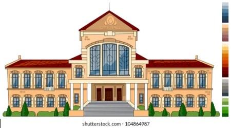 Town Hall Cartoon Images Stock Photos & Vectors Shutterstock