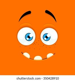 surprised cartoon face images