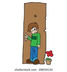 Close the Door Cartoon Stock Illustrations Images & Vectors Shutterstock