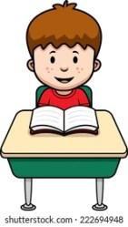 School Desk Cartoon Images Stock Photos & Vectors Shutterstock