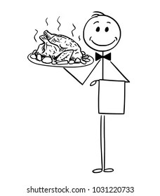 Chicken Man Drawing Images, Stock Photos & Vectors