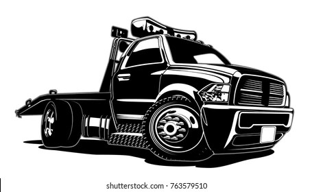 tow truck images stock
