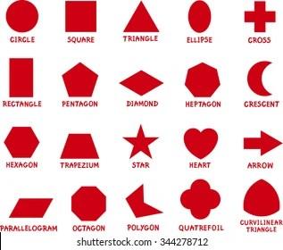 basic shapes images stock