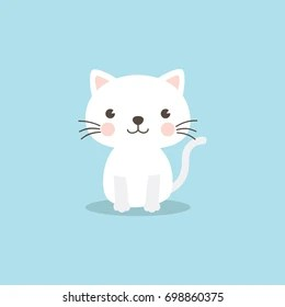 cat cartoon images stock